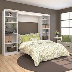 Bestar Versatile Full Storage Wall Bed