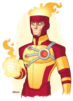 extraordinarycomics:  Firestorm by Dmac.