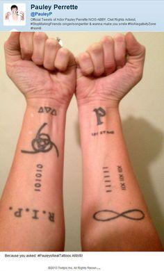 Abby Scuito arm tattoos