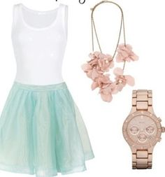 Super cute spring outfit and of course I love the pink!