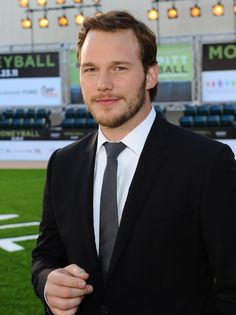 Chris Pratt......pretty much fits my ideal guy description...