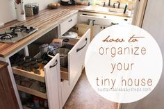 7 Tips for Tiny House Design, Decorating, and Organization - Go Green Blog - Sustainable Baby Steps