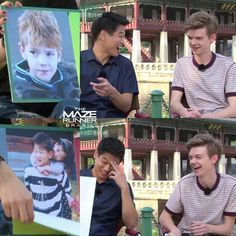 Thomas and Ki Hong when they were younger