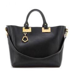 Sophie Hulme - Leather shopper #accessories #women #covetme #sophiehulme #ontrend #fashion #ladies #armcandy #handbag #trending