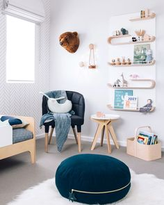 Modern neutral nursery. @ouranak