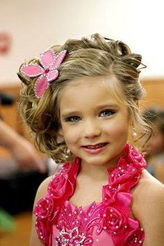pageant hair for toddlers