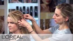 Braided Bun Mara Roszak Tutorial   Advanced Hairstyle   L'Oreal