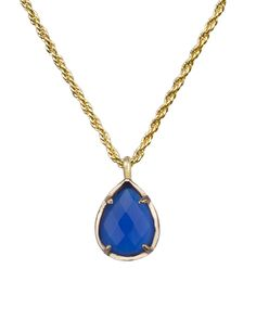 Kiri Necklace in Cobalt - Kendra Scott Jewelry.