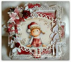 Magnolia cards by Barbara GR: Christmas card
