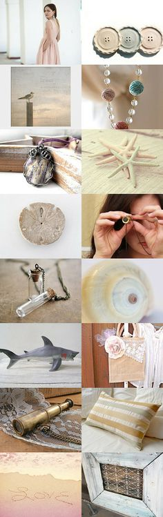 I Spy a beach wedding by Molly O'Bryon-Welpott on Etsy--Pinned with TreasuryPin.com