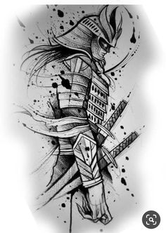 samurai design tattoo - tattoo - # Design - samurai design tattoo – tattoo – You are in the right place about rose - Samurai Tattoo, Samurai Drawing, Samurai Artwork, Tattoo Design Drawings, Tattoo Sleeve Designs, Tattoo Sketches, Art Sketches, Sleeve Tattoos, Japanese Tattoo Art