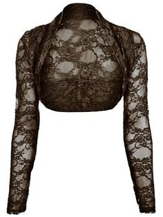 cfb41d3f0b Women s Shrug Sweaters - Womens Lace Long Sleeved Shrug     Check out this  great product.