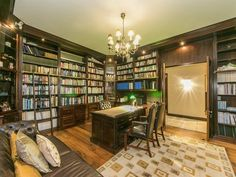 I've always had a weak spot for these type of libraries. Home Libraries, Property For Sale, Shelves, Type, House, Home Decor, Shelving, Decoration Home, Home