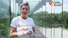 Monika Butryn biegnie z Lublin Business Run