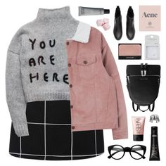 """YOU ARE HERE"" by emmas-fashion-diary ❤ liked on Polyvore featuring Retrò, MICHAEL Michael Kors, NARS Cosmetics, Topshop, Prada and Alexis Bittar"