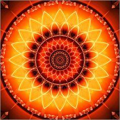 Christine Bässler - Mandala Kraft der Sonne