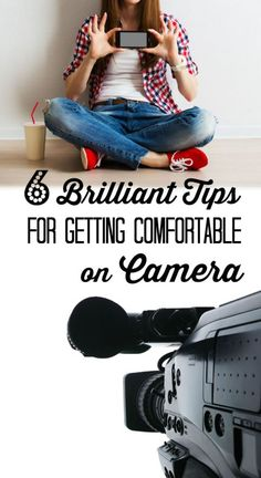 Learn from a real mom just like you. 6 brilliant tips to get you comfortable on camera so you can use video in your business and have the advantage. -- Learn more by visiting the image link. E-mail Marketing, Content Marketing, Social Media Marketing, Affiliate Marketing, Business Marketing, Internet Marketing, Youtube Tips, Vlog, Great Videos