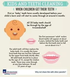 Kids and Teeth Cleaning Information  #Dentist #Hygienist