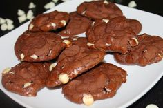 Double Chocolate Cookies! Healthy AND delicious!!
