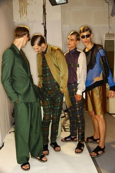 Best of Backstage: Paris Men's SS13 | Fashion Magazine | News. Fashion. Beauty. Music. | oystermag.com