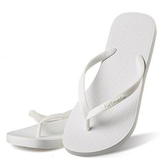 075eb10079cc Hotmarzz Women s Slim Flip Flops Fashion Beach Slippers Flat Sandals