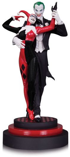 DC Comics statuette The Joker and Harley Quinn DC Collectibles
