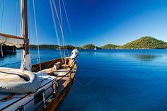 Sailing Ionian Sea -- my future morning wake up in 2 weeks!