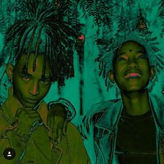 They legitimately give me hope for the youth. In a world full of so many cookie cutter personalities Jaden & Willow Smith give you (me at least) that breath of fresh air. #indigochild by shockthemaven