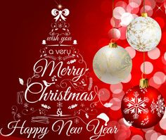 happy christmas and new year to all my family and friends will not be sending