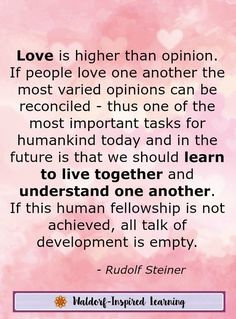Rudolf Steiner, the founder of Waldorf education, believed that all teaching starts with love. Stop by the Steiner Cafe where we explore Steiner's lectures to the first Waldorf teachers in 1919 and how these apply to homeschooling.