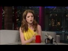 Anna Kendrick preforms Cup song on David Letterman