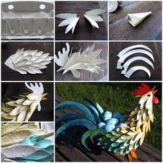 Egg Carton Craft – Easter Rooster  https://www.facebook.com/icreativeideas