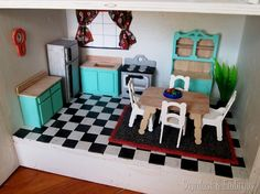 Dollhouse Kitchen {Sawdust and Embryos}