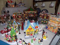 Disney Christmas Village 2016 - added pixie dust