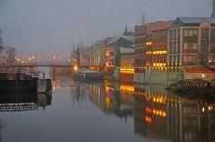 Fog day Opole
