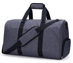 MIER Gym Duffel Bag for Men and Women with Shoe Compartment, Carry On Size, 20inches, Sets of 2 >>> Don't get left behind, see this great  product : Christmas Luggage and Travel Gear