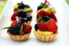 7 EASY Celebration Fruit Tarts ~ perfect for Easter, I LOVE Fruit Tarts !!!