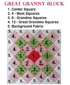 Tutorials for Granny Blocks and Great Granny Blocks