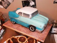 Replica Vintage Car cake  www.facebook.com/sugspicecakes