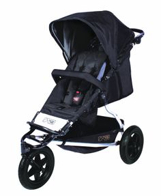 Amazon.com: Mountain Buggy Plus One Buggy with Cocoon and Second Seat, Black: Baby
