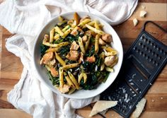 Chicken Breast and Broccoli Rabe with Penne - Bon Appétit