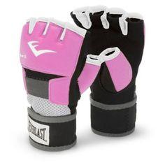31601fb07 Luvas Everlast Para Proteção de Mãos durante o Treino para Mulheres -  Branca e Rosa - 2 opções de tamanho - Artes Marciais - Esporte e Fitness