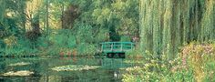 Have personally been there (Monet's Gardens at Giverny) and you can see Monet's inspiration. It's beautiful.