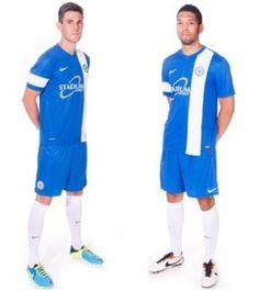 Peterborough United Official Football Shirts & New Kit Releases Football Shirts, Sports Shirts, Peterborough United, Premier League, Polo Ralph Lauren, The Unit, Kit, Mens Tops, Fashion