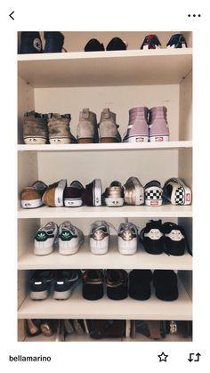 28 Modern Shoes Closet Ideas for Men Cute Shoes, Me Too Shoes, Best Shoe Rack, Vans Shoes, Shoes Heels, Shoe Storage, Dream Shoes, Shoe Closet, Shoe Game