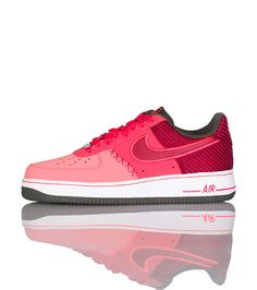 NIKE Air Force Ones Low top mens sneaker Lace up closure Signature NIKE swoosh on sides Perforated toe box Cushioned inner sole for ultimate comfort