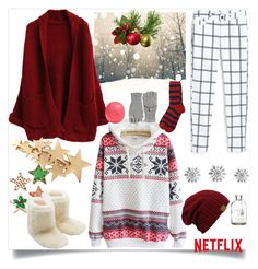 """""""christmas morning"""" by my-fashion-paradise ❤ liked on Polyvore featuring MANGO, M&Co, Eos, Calypso St. Barth and Sonia Rykiel"""