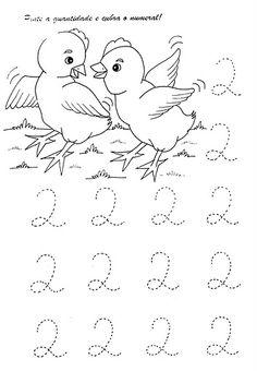 Resultado de imagem para fichas pré escolar números