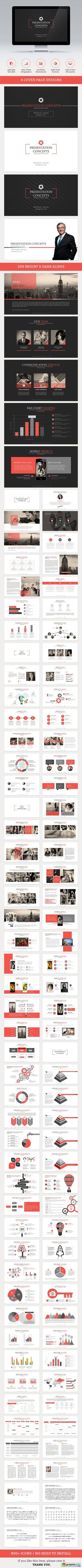 Axis Powerpoint Template