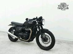 "motomood: ""Triumph Street Twin """